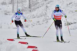 \MESSINGER Nico Guide: KLAUSMANN LP, GER, B2 at the 2018 ParaNordic World Cup Vuokatti in Finland