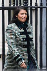 Downing Street, London, February 11th 2016. Employment Minister Priti Patel attends the weekly cabinet meeting. <br /> &copy;Paul Davey<br /> FOR LICENCING CONTACT: Paul Davey +44 (0) 7966 016 296 paul@pauldaveycreative.co.uk