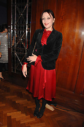PEARL LOWE at a party to celebrate the launch of the new purple Sony Ericsson K770i phone held at the Bloomsbury Ballroom, Bloomsbury Square, London on 24th October 2007.<br /><br />NON EXCLUSIVE - WORLD RIGHTS