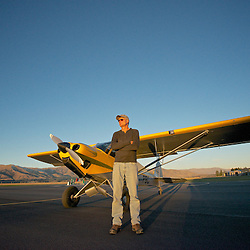 Pilot Portrait - Bruce