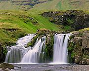 Waterfall on the Snæfellsnes Peninsula Iceland, Europe