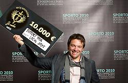 during Sporto  2010 Gala Dinner and Awards ceremony at Sports marketing and sponsorship conference, on November 29, 2010 in Hotel Slovenija, Portoroz/Portorose, Slovenia. (Photo By Vid Ponikvar / Sportida.com)