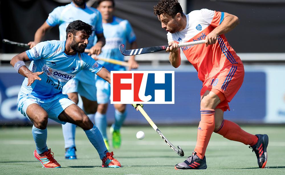 BREDA - Rabobank Hockey Champions Trophy<br /> The Netherlands - India<br /> Photo: Valentin Verga.<br /> COPYRIGHT WORLDSPORTPICS FRANK UIJLENBROEK