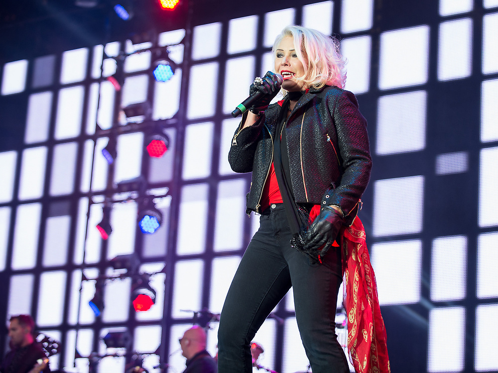 Kim Wilde in concert at Rewind Scotland, Scone Place, Perth, Scotland