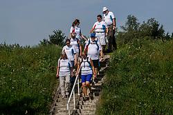 26-08-2017 NED: Nationale Diabetes Challenge, Zwolle<br /> Diverse gezondheidscentra, huisartsenpraktijken en fysiotherapie praktijken zijn met ondersteuning van de BvdGF gestart met een lokale wandel challenge. De grote finale vindt plaats op 30 september rond Papendal.