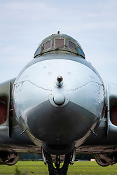 Avro Vulcan B.2A on display at National Museum of Flight at East Fortune Airfield in East Lothian, Scotland, United Kingdom