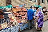 Russie, Republique du Tatarstan, Ville de Kazan, marche couvert. // Russia, Tatarstan Republic, City of Kazan, Cover market.