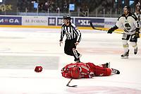 GET-ligaen Ice Hockey, 27. october 2016 ,  Stavanger Oilers v Stjernen<br /> Anders Pedersen fra Stjernen mot Stavanger Oilers<br /> Foto: Andrew Halseid Budd , Digitalsport