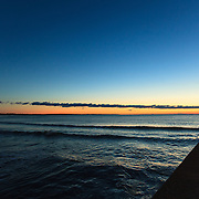 Today's Fall Sunrise  at Narragansett Town Beach, Narragansett, RI,  November  19, 2013. #waves #beach #rhodeisland #sunrise