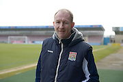Cobblers assistant Manager Alan Knill   during the Sky Bet League 2 match between Northampton Town and Cambridge United at Sixfields Stadium, Northampton, England on 12 March 2016. Photo by Dennis Goodwin.