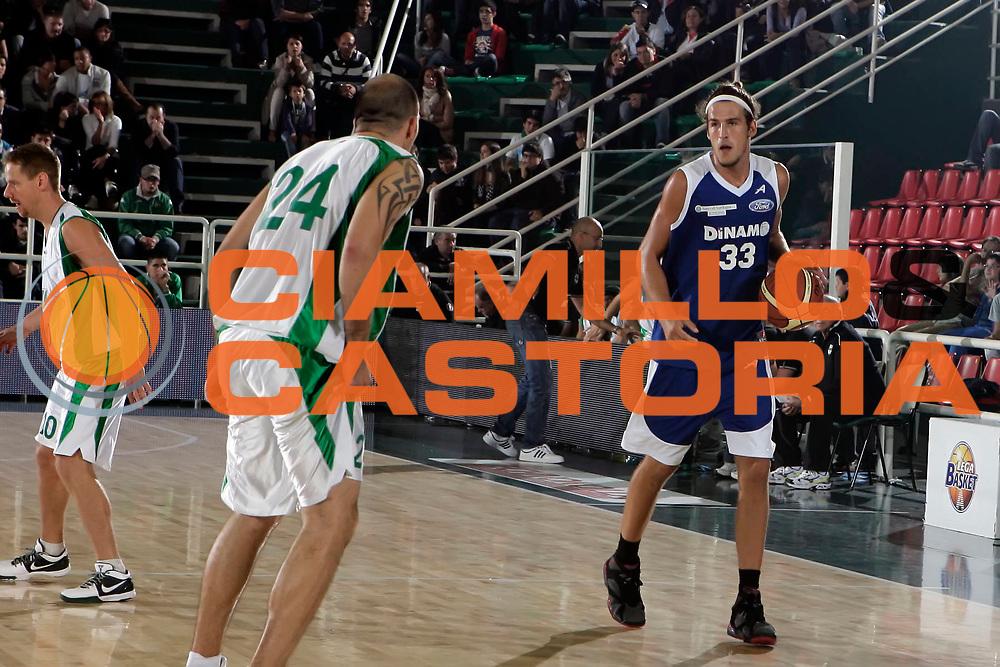 DESCRIZIONE : Avellino Lega A 2010-11 Torneo Vito Lepore Air Avellino Dinamo Sassari<br /> GIOCATORE : Jiri Hubalek<br /> SQUADRA : Dinamo Sassari<br /> EVENTO : Campionato Lega A 2010-2011<br /> GARA : Air Avellino Dinamo Sassari<br /> DATA : 02/10/2010<br /> CATEGORIA : palleggio<br /> SPORT : Pallacanestro<br /> AUTORE : Agenzia Ciamillo-Castoria/A.De Lise<br /> Galleria : Lega Basket A 2010-2011<br /> Fotonotizia : Avellino Lega A 2010-11 Torneo Vito Lepore Air Avellino Dinamo Sassari<br /> Predefinita :