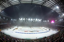 03.01.2015, Klagenfurter Wörthersee Stadion, Klagenfurt, AUT, EBEL, EC KAC vs EC VSV, 35. Runde, in picture View on the stadium during the Erste Bank Icehockey League 35. Round between EC KAC and EC VSV at the Klagenfurter Wörthersee Stadion, Klagenfurt, Austria on 2015/01/03. Photo by Matic Klansek Velej / Sportida