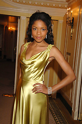 Actress NAOMI HARRIS at the Chain of Hope Ball held at The Dorchester, Park Lane, London on 4th February 2008.<br />