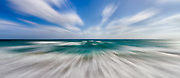 USA, Florida, Boca Raton. Abstract coastline scene.