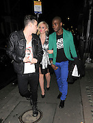 26.JANUARY.2012. LONDON<br /> <br /> KITTY BRUCKNELL SEEN OUT AND ABOUT IN MAYFAIR WITH MODELS BB AND JAY.<br /> <br /> BYLINE: EDBIMAGEARCHIVE.COM<br /> <br /> *THIS IMAGE IS STRICTLY FOR UK NEWSPAPERS AND MAGAZINES ONLY*<br /> *FOR WORLD WIDE SALES AND WEB USE PLEASE CONTACT EDBIMAGEARCHIVE - 0208 954 5968*
