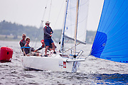 Grommit, J80 Class, racing during Bacardi Newport Sailing Week, day 3.