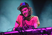Rusko performing at the Pageant in St. Louis, Missouri on February 27, 2012.