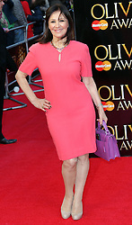 Arlene Phillips arriving at the Olivier Awards in London, Sunday 15th April 2012.  Photo by: Stephen Lock / i-Images