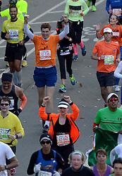 03-11-2013 ALGEMEEN: BVDGF NY MARATHON: NEW YORK <br /> De NY marathon werd weer een groot succes voor de BvdGf. Alle lopers hebben met prachtige tijden de finish gehaald / Bas finisht in 4:49:23<br /> ©2013-FotoHoogendoorn.nl