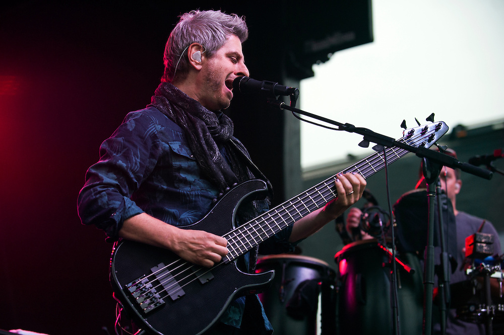 The Mike Gordon band plays during day one of the Grand Point North music festival on Saturday September 12, 2015 in Burlington. (BRIAN JENKINS/for the FREE PRESS)