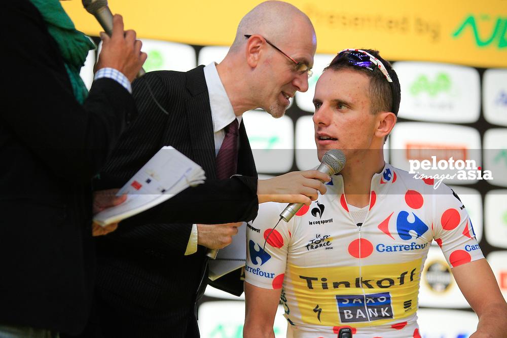Cycling: 2nd Tour de France Saitama Criterium 2014/ Valerio AGNOLI (Ita)