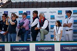Delaveau Patrice, FRA, Aquila Hdc, Guerdat Philippe, SUI<br /> CSIO La Baule 2018<br /> © Dirk Caremans<br /> 20/05/2018