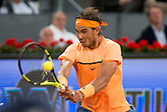 Rafael Nadal during the Madrid Open at Manzanares Park Tennis Centre, Madrid<br /> Picture by EXPA Pictures/Focus Images Ltd 07814482222<br /> 06/05/2016<br /> ***UK &amp; IRELAND ONLY***<br /> EXPA-ESP-160506-0028.jpg