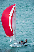 Arethusa (NZL3591). The start of the Coastal Classic, Auckland to Russel race. 23/10/2015