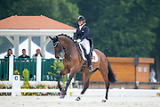 Emilie Holm Toft - Ramia Lox<br /> FEI European Dressage Championships for Young Riders and Juniors 2013<br /> © DigiShots
