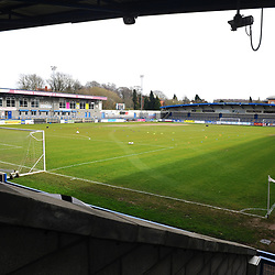 TELFORD COPYRIGHT MIKE SHERIDAN General View of the New Bucks head during the Vanarama Conference North fixture between AFC Telford United and Kettering at The New Bucks Head on Saturday, March 14, 2020.<br /> <br /> Picture credit: Mike Sheridan/Ultrapress<br /> <br /> MS201920-050