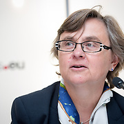 04 June 2015 - Belgium - Brussels - European Development Days - EDD - Jobs - Developing with decent work - Francoise Millecam , Deputy Head of Unit , Human Development and Migration , Directorate-General for International Development and Cooperation , European Commission © European Union