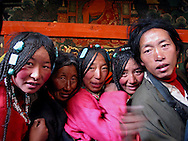 portrait of Tibetan