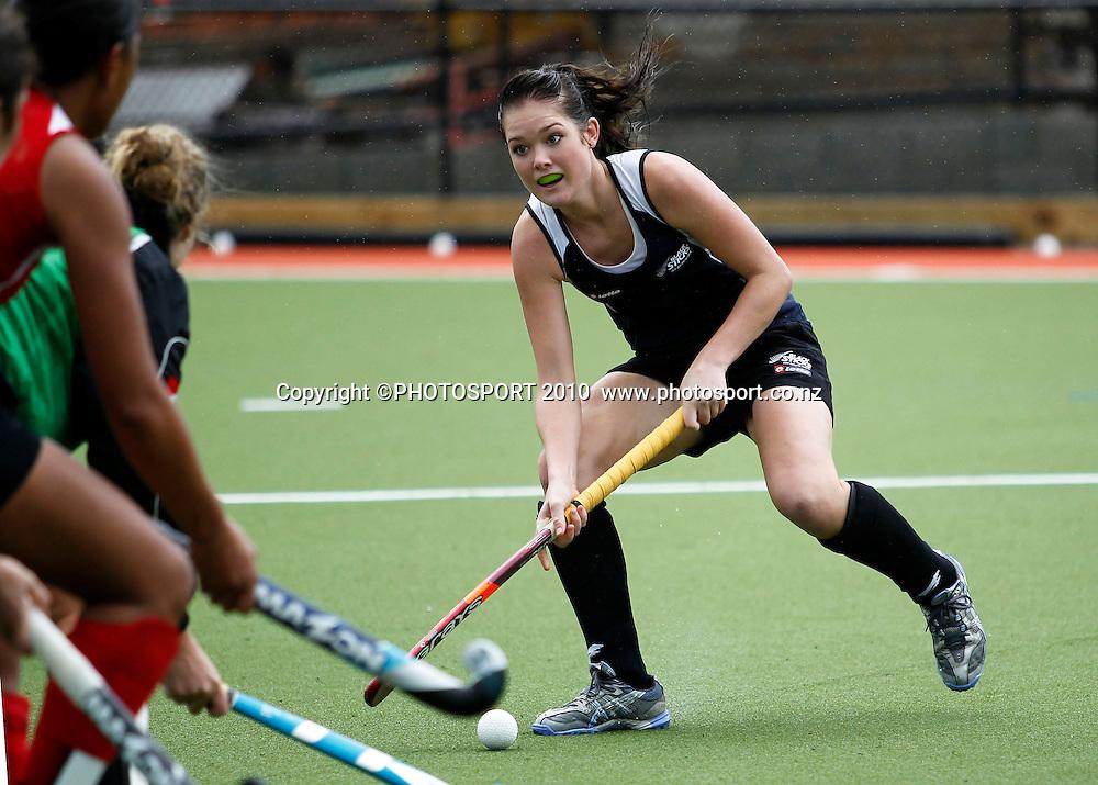 Samantha Harrison. Black Sticks Women training session ahead of the World Champs in Argentina. Papatoetoe, Auckland. Sunday 8 August 2010. Photo: Simon Watts/PHOTOSPORT