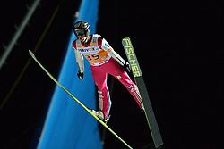 21.11.2014, Vogtland Arena, Klingenthal, GER, FIS Weltcup Ski Sprung, Klingenthal, Herren, HS 140, Qualifikation, im Bild Roman Koudelka (CZE) // during the mens HS 140 qualification of FIS Ski jumping World Cup at the Vogtland Arena in Klingenthal, Germany on 2014/11/21. EXPA Pictures © 2014, PhotoCredit: EXPA/ Eibner-Pressefoto/ Harzer<br /> <br /> *****ATTENTION - OUT of GER*****