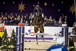KREUZER Andreas (GER), Campino 499<br /> Frankfurt - Festhallen Reitturnier 2018<br /> Lavazza Preis<br /> 1. Qualifikation Youngster Tour 7+8 jährige Pferde<br /> 14. Dezember 2018<br /> © www.sportfotos-lafrentz.de/Stefan Lafrentz