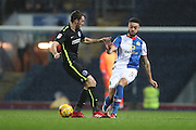 Blackburn Rovers defender, Derrick Williams (5) during the EFL Sky Bet Championship match between Blackburn Rovers and Brighton and Hove Albion at Ewood Park, Blackburn, England on 13 December 2016.