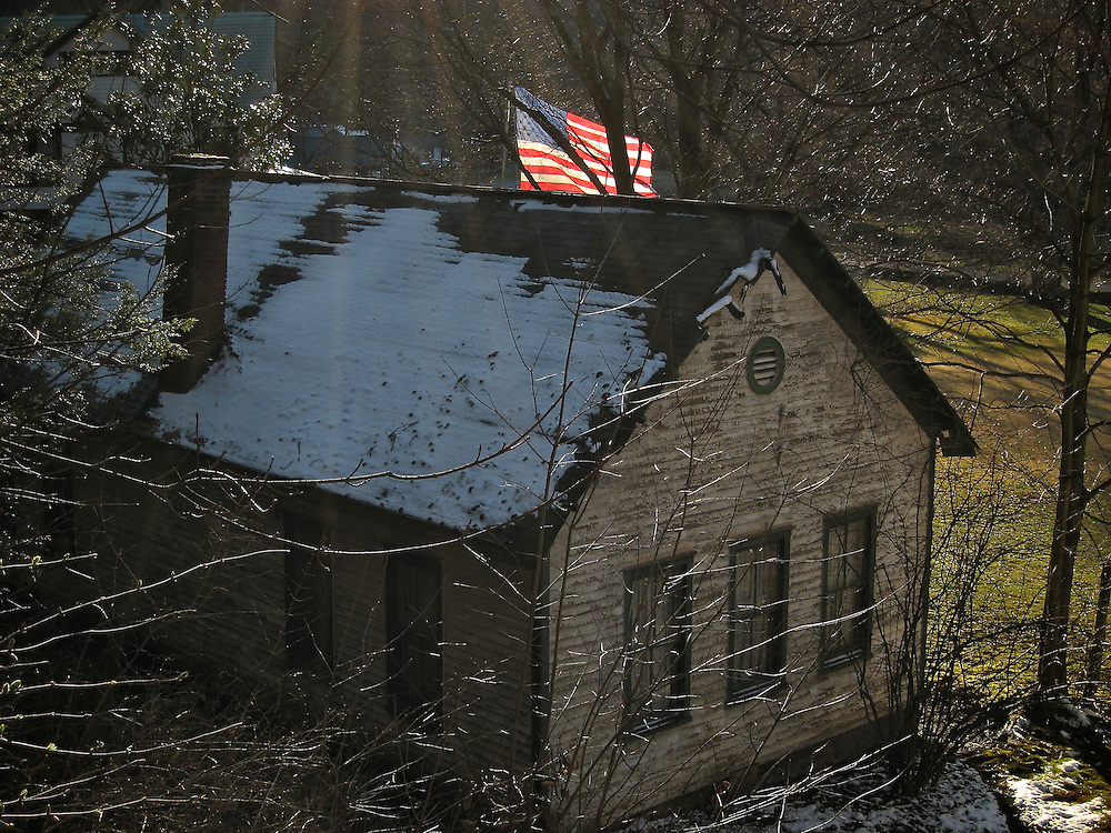 Flag in Elkhorn, WV