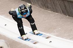 February 7, 2019 - Ljubno, Savinjska, Slovenia - Jerneja Brecl of Slovenia competes on qualification day of the FIS Ski Jumping World Cup Ladies Ljubno on February 7, 2019 in Ljubno, Slovenia. (Credit Image: © Rok Rakun/Pacific Press via ZUMA Wire)