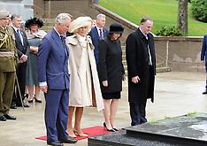 Wellington-Royals, Prince Charles and Carmilla lay wreath at War Memorial
