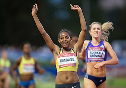 Axumawit Embaye of Ethiopia winning in 3000m Women during IAAF World Challenge Zagreb - The 65th Hanzekovic Memorial Meeting, on September 8, 2015, in Stadium Mladost, Zagreb, Croatia. Photo by Vid Ponikvar / Sportida