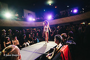 Aniela Parys at Unmentionable: A Lingerie Exhibition at the Mission Theater in Portland, OR. Feb. 8, 2017. Photo by Jason Quigley www.photojq.com