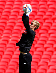 02.09.2010, Wembley Stadion, London, ENG, Training Nationalmannschaft England, im Bild Joe Hart of England, EXPA Pictures © 2010, PhotoCredit: EXPA/ IPS *** ATTENTION *** UK AND FRANCE OUT! / SPORTIDA PHOTO AGENCY