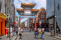UK, London, China Town, tourism, travel, June, 2018, 201806234440<br />