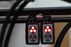 09.03.2011, Circuit de Catalunya, Barcelona, ESP, Formel 1 Test 4 2011,  im Bild McLaren Pit Stop Light  .   EXPA Pictures © 2011, PhotoCredit: EXPA/ nph/  Poleposition.at       ***** only AUT, SLO ******