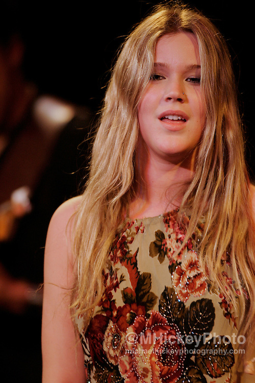 Joss Stone performs at the WZPL Jingle Jam in Indianapolis. Photo by Michael Hickey Photo by Michael Hickey