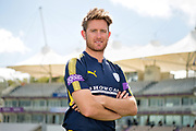 Portrait of Liam Dawson during the Hampshire CCC photo call 2017 at  at the Ageas Bowl, Southampton, United Kingdom on 12 April 2017. Photo by David Vokes.