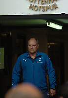 Photo: Tony Oudot.<br /> Tottenham Hotspur v Derby County. The FA Barclays Premiership. 18/08/2007.<br /> Tottenham manager Martin Jol walks out of the tunnel before the match