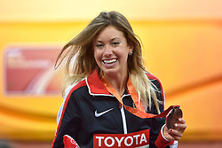 25-08-2015 CHN: IAAF World Championships Athletics day 4, Beijing<br /> Emily Infeld USA placed third at 10000 m<br /> Photo by Ronald Hoogendoorn / Sportida
