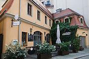 Dresden Neustadt, Barockhaus, Dresden, Sachsen, Deutschland.|.Dresden, Germany,  Dresden Neustadt, king street