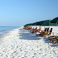 Boardwalk on the beach along the Florida Scenic Highway 30A and the Emerald Coast in the panhandle area of Florida.(AP Photo/Alex Menendez) Florida scenic highway photos from the State of Florida. Florida scenic images of the Sunshine State.